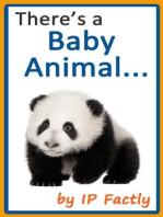 There's a Baby Animal... (Animal Rhyming Books For Children, #5)