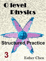 O level Physics Structured Practice 3