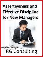Assertiveness and Effective Discipline