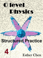 O level Physics Structured Practice 4