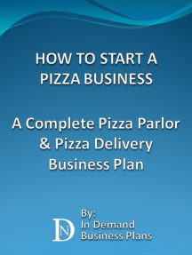 Business plan when buying a pizzeria