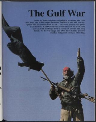 essay on the gulf war