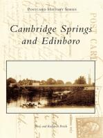 Cambridge Springs and Edinboro
