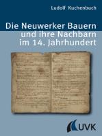 Die Neuwerker Bauern und ihre Nachbarn im 14. Jahrhundert