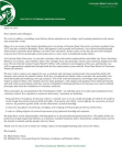 Colorado State Veterinary School letter to students and staff Free download PDF and Read online