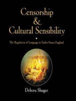 Censorship and Cultural Sensibility