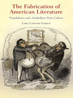 The Fabrication of American Literature
