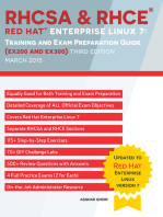 RHCSA & RHCE Red Hat Enterprise Linux 7