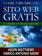 Come creare un sito web gratis