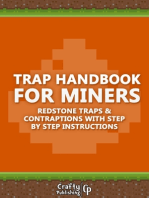 Trap Handbook for Miners - Redstone Traps & Contraptions with Step by Step Instructions