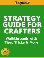 Strategy Guide For Crafters