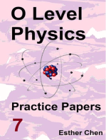 O level Physics Practice Papers 7