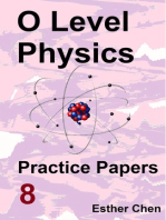 O level Physics Practice Papers 8