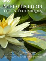 Meditation Tips 'n Techniques