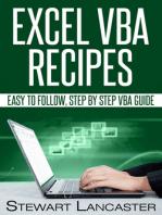 Excel VBA Recipes