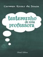 Testemunho de Uma Professora