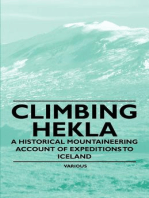 Climbing Hekla - A Historical Mountaineering Account of Expeditions to Iceland