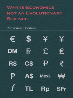 Why is Economics not an Evolutionary Science (Essential Economics Series