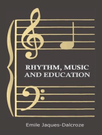 Rhythm, Music and Education