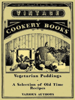Vegetarian Puddings - A Selection of Old Time Recipes