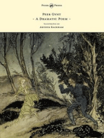 Peer Gynt - A Dramatic Poem - Illustrated by Arthur Rackham