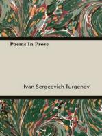 Poems in Prose