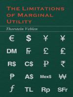 The Limitations of Marginal Utility (Essential Economics Series