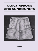 Fancy Aprons and Sunbonnets