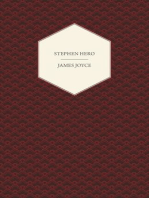 Stephen Hero - A Part of the First Draft of a Portrait of the Artist as a Young Man