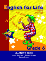 English for Life Learner's Book Grade 6 Home Language