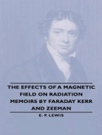 The Effects Of A Magnetic Field On Radiation -Memoirs By Faraday Kerr And Zeeman