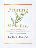 Pruning Made Easy - How To Prune Rose Trees, Fruit Trees And Ornamental Trees And Shrubs