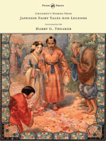 Children's Stories From Japanese Fairy Tales & Legends - Illustrated by Harry G. Theaker