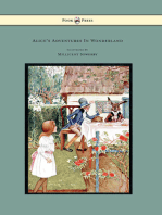 Alice's Adventures in Wonderland - Illustrated by Millicent Sowerby