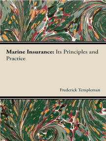 Marine Insurance : Its Principles And Practice