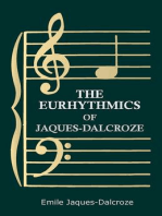The Eurhythmics of Jaques-Dalcroze