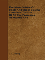 The Manufacture Of Boots And Shoes