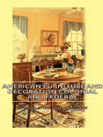American Furniture And Decoration Colonial And Federal