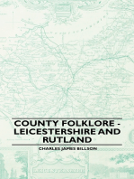 County Folklore - Leicestershire And Rutland
