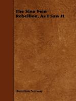The Sinn Fein Rebellion, As I Saw It