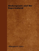 Shakespeare and the Supernatural