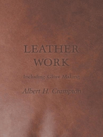 Leather Work - Including Glove Making