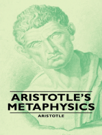 Aristotle's Metaphysics