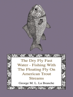 The Dry Fly Fast Water - Fishing With The Floating Fly On American Trout Streams, Together With Some Observations On Fly Fishing In General