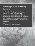 Bearings And Bearing Metals