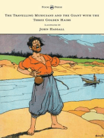 The Travelling Musicians and the Giant with the Three Golden Hairs - Illustrated by John Hassall