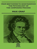 From Beethoven To Shostakovich - The Psychology Of The Composing Process