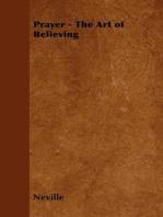 Prayer - The Art of Believing