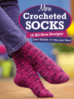 More Crocheted Socks