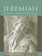 Jeremiah and God's Plans of Well-being